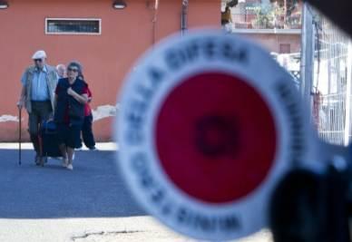Continua il dibattito sulla sicurezza a Roma (Foto Ansa)