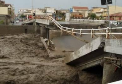 Devastazione in Sicilia