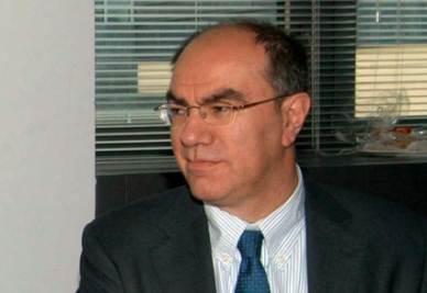 Uno dei giornalisti italiani rapiti, Giuseppe Sarcina, foto Ansa