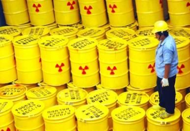 Scorie nucleari (Foto Ansa)