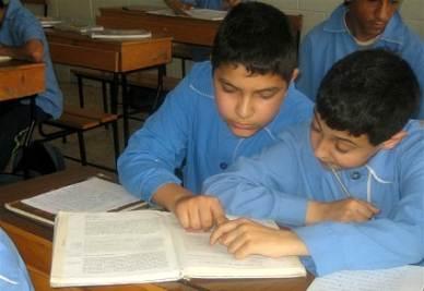 A scuola in Libano (foto Marco Perini)