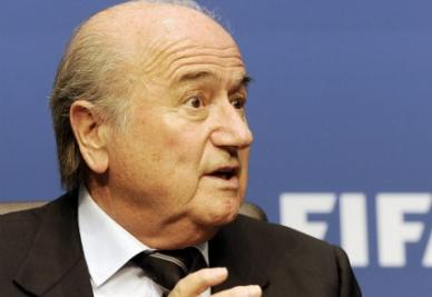 Joseph Blatter, presidente Fifa (foto Ansa)
