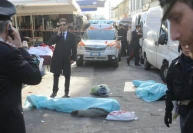 La strage nel capoluogo fiorentino