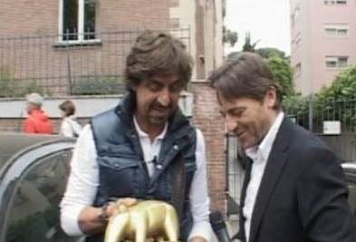 Valerio Staffelli e Alessio Vinci