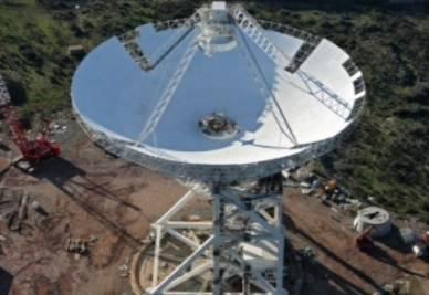 Il radio telescopio che sarà inaugurato nel 2012