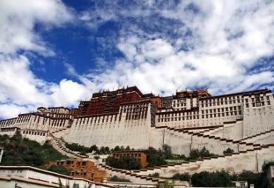 Il Potala, residenza del Dhalai Lama