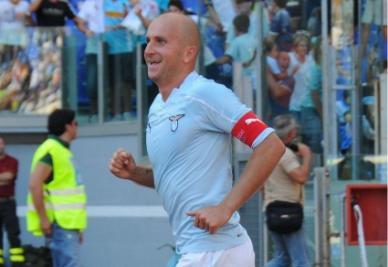 Tommaso Rocchi (Lazio) - foto Ansa