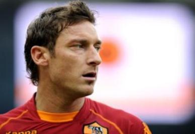 Francesco Totti, capitano della Roma (Foto Ansa)