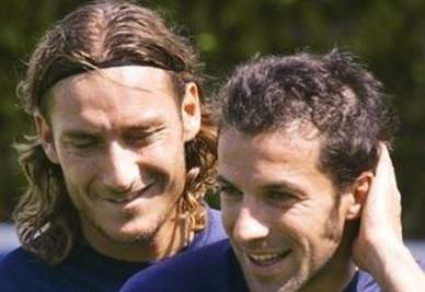 Francesco Totti e Alessandro Del Piero