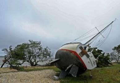 L'arrivo dell'uragano Irene (Foto Ansa)