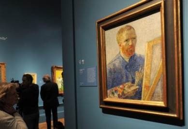 L'autoritratto di Vincent Van Gogh