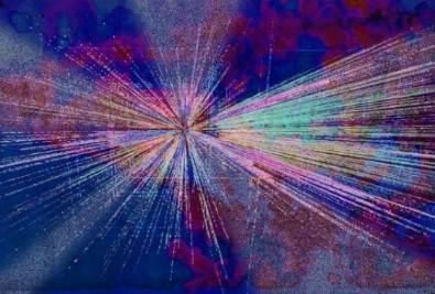 Una immagine della velocità della luce