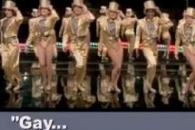 Un'immagine del nuovo video