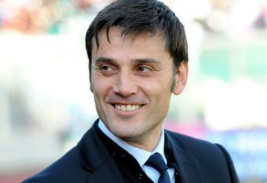 Il tecnico del Catania Vincenzo Montella (foto ANSA)