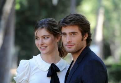 Vittoria Puccini e Rodrigo Guirao Diaz (Foto Ansa)