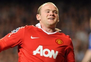 Wayne Rooney (foto ANSA)