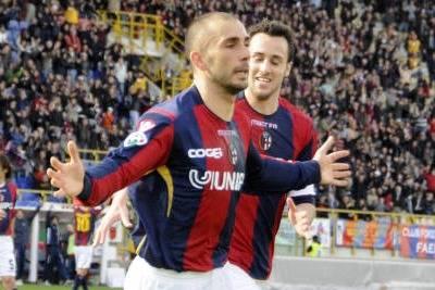 Marco Di Vaio, attaccante Bologna (Foto: Ansa)