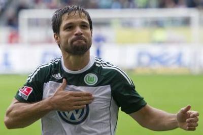 Diego del Wolfsburg (foto Ansa)