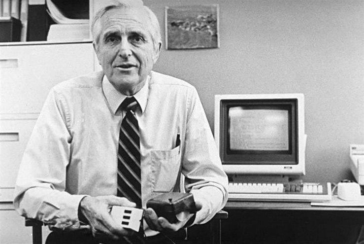 Douglas Engelbart, inventore del mouse