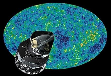 Il Satellite Planck dell'Agenzia Spaziale Europea, lanciato nello spazio il 14 maggio 2009.