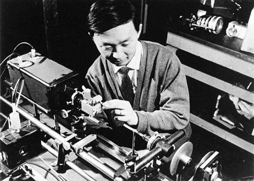 Charles K. Kao nel 1960