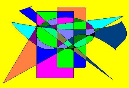 Quadro astratto n. 4 (Elena 2008, disegno eseguito al computer)