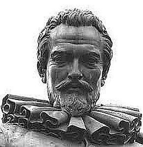 [A sinistra: Statua di Simon Stevin (1548-1620), nell'omonima piazza di Bruges] L'uso della virgola decimale viene generalmente attribuita a Giovanni ... - Gorini_Statua_Stevin_ok