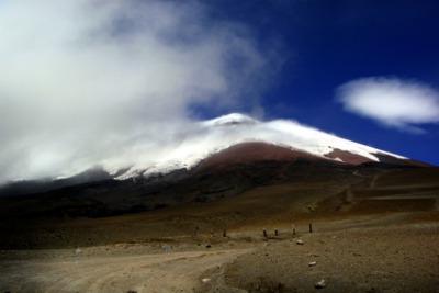 Le montagne dell'Ecuador