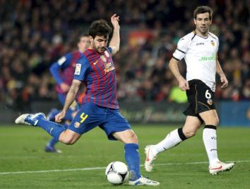 Cesc Fabregas, cresciuto nel Barcellona, tornato quest'anno dopo gli otto anni a Londra (Infophoto)