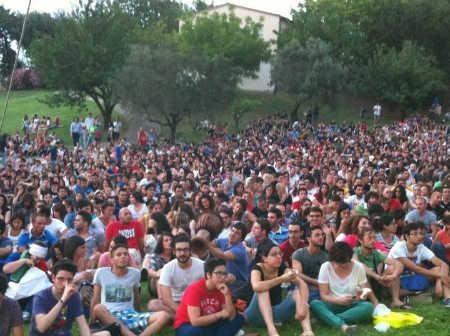 Un'immagine del campus
