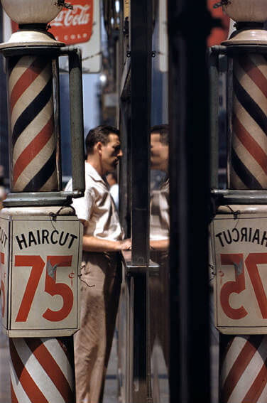 Saul Leiter, Haircut 1956