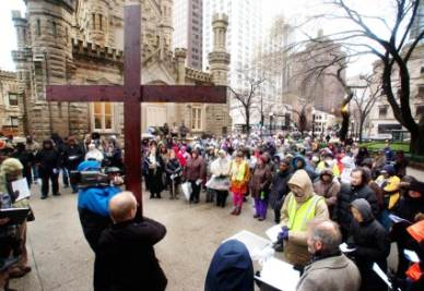 Via Crucis a Chicago