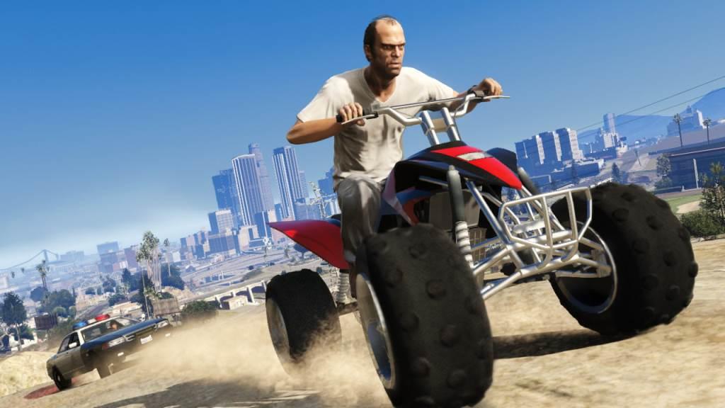 Trevor, uno dei tre protagonisti presente in Grand Theft Auto V