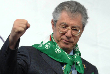 Umberto Bossi (Foto Imagoeconomica)