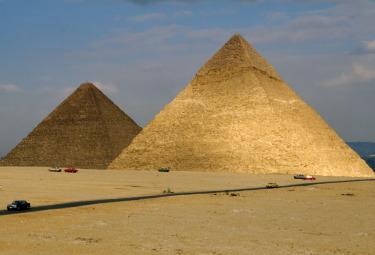 Le piramidi di Giza (Foto Imagoeconomica)