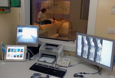 Una sala per la risonanza magnetica (Foto Imagoeconomica)