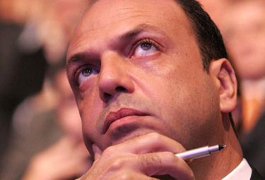 Il ministro della Giustizia, Angelino Alfano (Imagoeconomica)