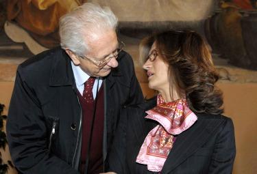Luigi Berlinguer e Maria Stella Gelmini (Imagoeconomica)
