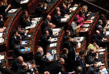 La Camera dei Deputati (Foto: Imagoeconomica)