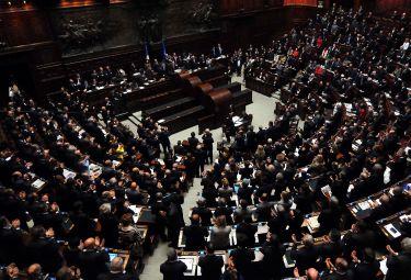 La Camera dei deputati (Imagoeconomica)