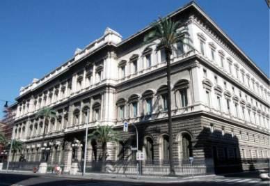 Palazzo Koch, sede della Banca d'Italia (Foto Imagoeconomica)