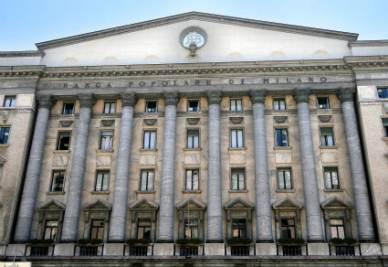 La sede della Banca Popolare di Milano (Foto Imagoeconomica)