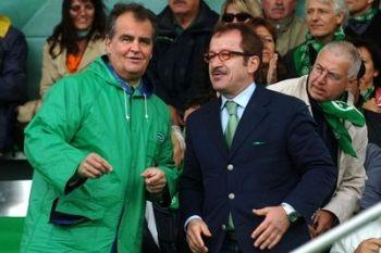 I ministri Calderoli e Maroni (Imagoeconomica)