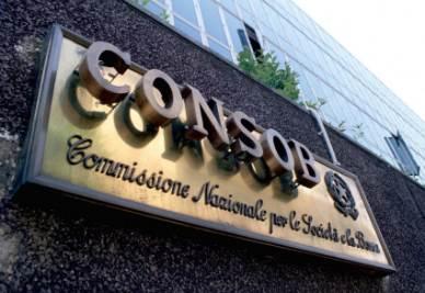 La sede della Consob a Roma (Foto Imagoeconomica)