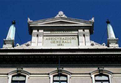 La sede di Generali a Trieste (Foto Imagoeconomica)