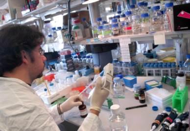 Un laboratorio di ricerca