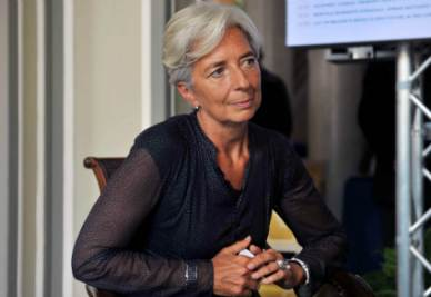 Christine Lagarde, Direttore del Fmi (Foto Imagoeconomica)