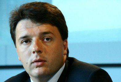 Renzi, sindaco di Firenze e leader dei rottamatori del PD