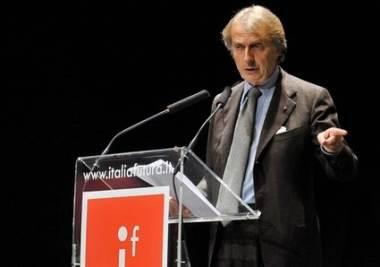Luca Cordero di Montezemolo, presidente di Italia Futura