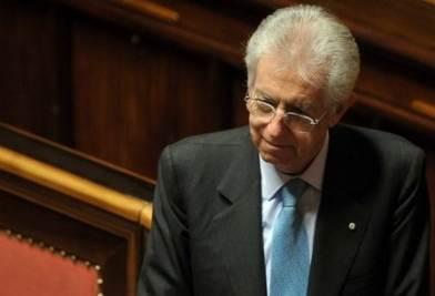 Il presidente del Consiglio Mario Monti (Imagoeconomica)